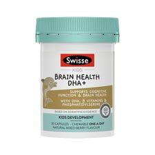 SWISSE KIDS BRAIN HEALTH DHA+
