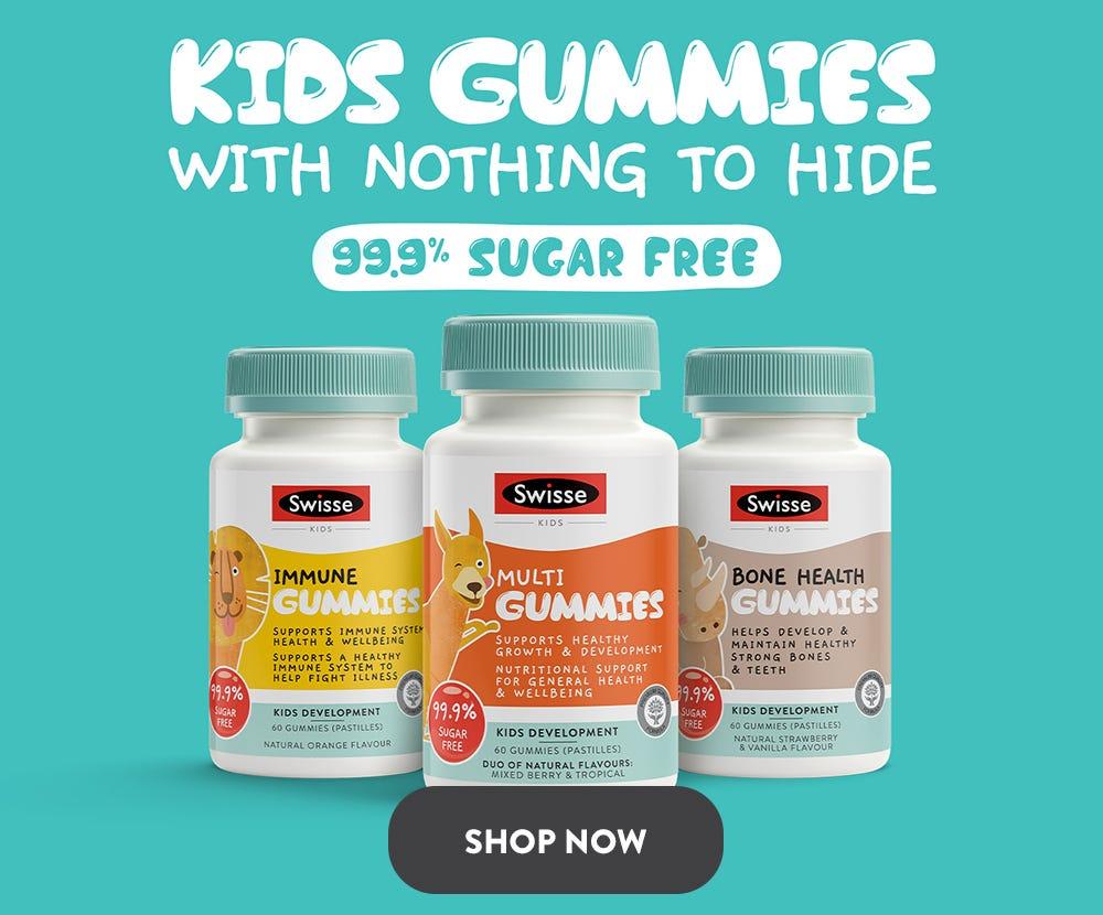 shop swisse KidsGummie on mobile